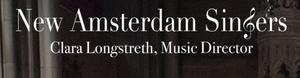 New Amsterdam Singers Will Present THROUGH THE SEASONS