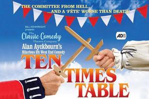 The Classic Comedy Theatre Company Presents TEN TIMES TABLE