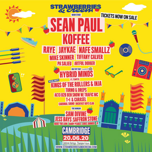 Sean Paul, Koffee to Headline Strawberries & Creem 2020
