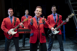 BWW Review: JERSEY BOYS Mans Up at Broadway at the Hobby Center