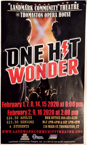 BWW Review: ONE HIT WONDER at Landmark Community Theatre