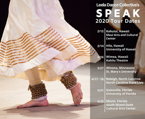 Leela Dance Collective to Present SPEAK, an All-Female Indian Kathak and American Tap Dance Collaboration
