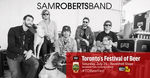 Sam Roberts Band To Headline Toronto's Festival of Beer