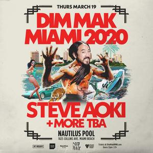 Dim Mak Miami 2020 to Feature Steve Aoki