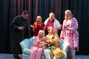 BWW Review: DON'T DRESS FOR DINNER at Ankeny Community Theatre: Hilarity Ensues in the Comedy That is Just What The Doctor Ordere