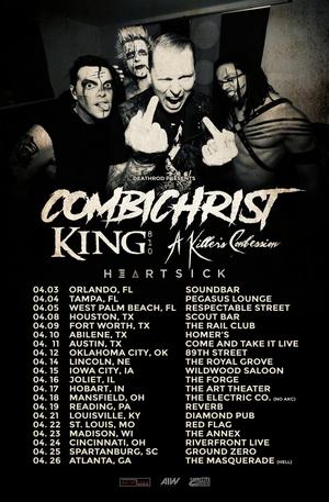 Combichrist Announces U.S. Tour This Spring