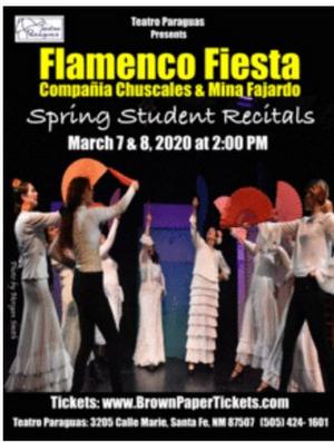 Teatro Paraguas and Compania Chuscales & Mina Fajardo  Will Present Their SPRING STUDENT RECITALS