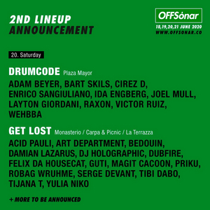 Offsonar 2020 Reveal Lineups For Get Lost's European Debut And Drumcode