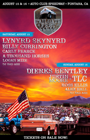 Tailgate Fest Announces 2020 Lineup Featuring Dierks Bentley and Lynyrd Skynyrd