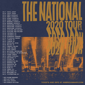 The National Announce North American Tour With Lucy Dacus, Julia Jacklin & Sharon Van Etten