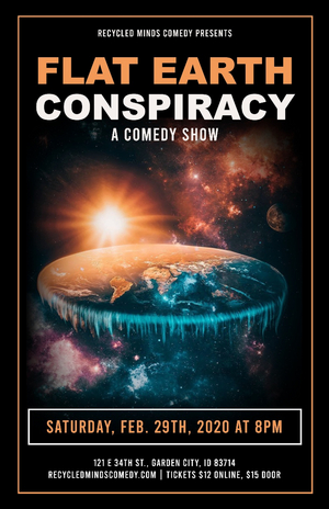 Local Comedy Company Presents IT'S A CONSPIRACY Comedy Show