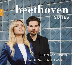 'Beethoven Suites' with Mandolinist Julien Martineau and Pianist Vanessa Benelli Mosell Out March 6