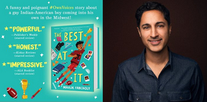 Second Stage Theater to Host Special Book Signing for GRAND HORIZONS' Maulik Pancholy's THE BEST AT IT