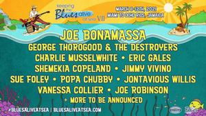 Joe Bonamassa Announces 7th Annual Keeping the Blues Alive at Sea