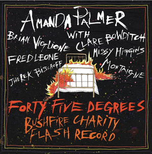 Amanda Palmer Announces Australian Charity Record; Releases Midnight Oil Cover