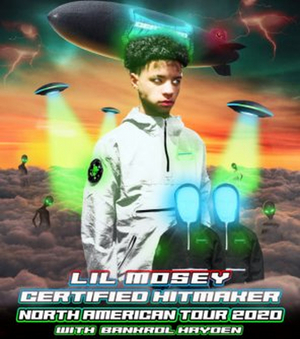 Bankrol Hayden Announced as Lil Mosey Tour Support
