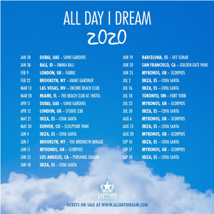 All Day I Dream Announces 2020 World Tour