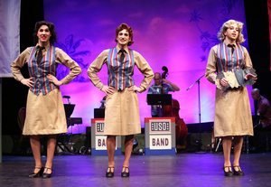 BWW Review: THE ANDREWS BROTHERS Jukebox Musical Recreates a WWII USO Show Somewhere in the South Pacific