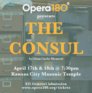Opera180 Announces Next Event - Menotti's THE CONSUL