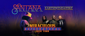 Carlos Santana and Earth, Wind & Fire Announce The Miraculous Supernatural 2020 Tour