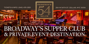 15% off Feinstein's/54 Below's Showstopper, Standards & Sondheim!