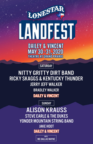 Dailey & Vincent Bring LANDFEST Music Festival Series to Texas