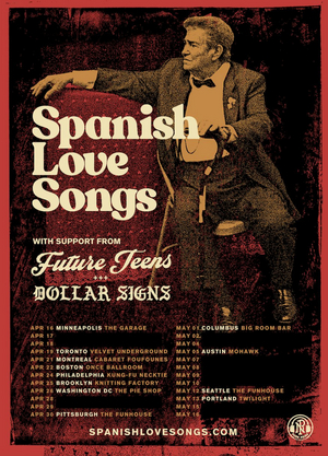 Spanish Love Songs Announce Headlining Tour