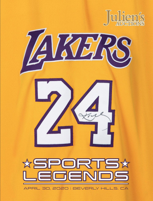 Kobe Bryant's LA Lakers Uniform, Basketball, Sneakers and More Announced for Julien's Auctions