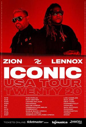 Zion & Lennox Announce Their First US Tour 'Iconic Tour Twenty 20'