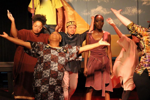 BWW Review: Kadime Kanyinda Gives a Star Turn in the Carrollwood Players' Hit and Miss Production of Elton John and Tim Rice's AIDA
