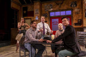 BWW Review: SHOTS OF WHISKEY, AND HARD LESSONS LINGER ON THE PALATE IN THIS HUMOROUS BUT INSIGHTFUL GHOST STORY WITH LONE STAR SPIRITS  at FreeFall Theatre