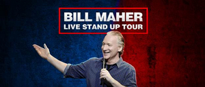 Bill Maher is Coming to the Majestic Theatre