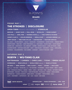III Points Reveals Daily Lineup