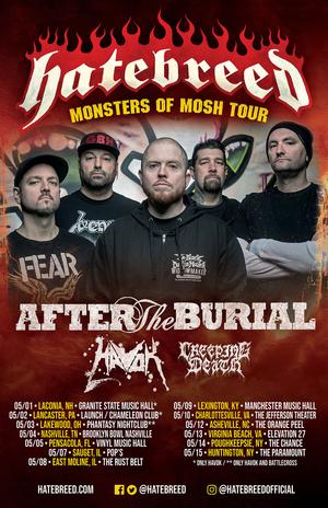 Hatebreed Announce 2020 U.S. Headline Tour Dates