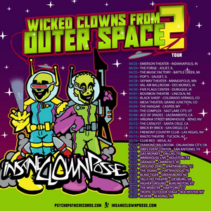 Insane Clown Posse Are Heading Out On Tour This Spring