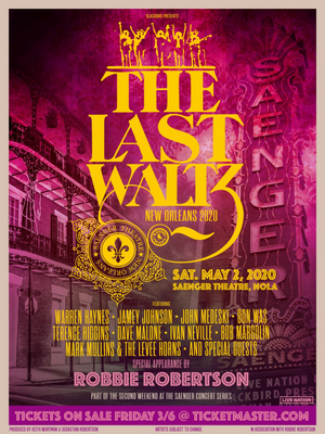 'Last Waltz New Orleans' All-Star Tribute Show To Take Place During JazzFest