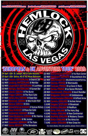 Hemlock Announce the 'European & UK Adventure Tour' 2020