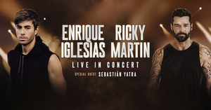 Enrique Iglesias And Ricky Martin Announce First Ever Co-Headlining Arena Tour In North America