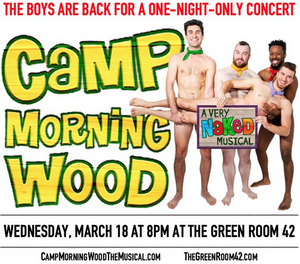 CAMP MORNING WOOD is Heading to The Green Room 42 For a One Night Only Concert