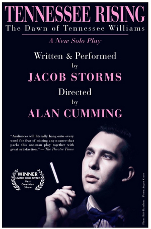 Jacob Storms' TENNESSEE RISING, Directed by Alan Cumming, to Play Tennessee Williams & New Orleans Literary Festival