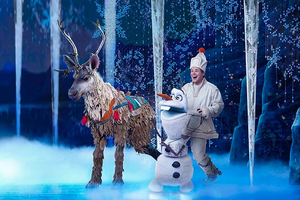 BWW Interview: F. Michael Haynie brings Olaf to life in FROZEN at Broadway San Diego