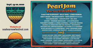 Sea.Hear.Now Announces Music And Surf Lineup, Featuring  Pearl Jam, The Avett Brothers, & More!