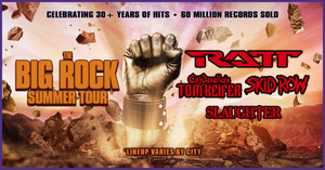 The Big Rock Summer Tour To Feature Ratt, Cinderella's Tom Keifer, Skid Row & Slaughter