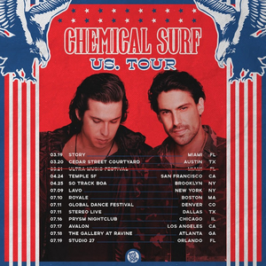 Chemical Surf Announce North American Tour