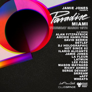Jamie Jones Brings Paradise to Club Space for Miami Music Week 2020