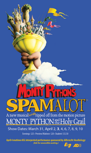 SPAMALOT Postponed at Penn State Centre Stage