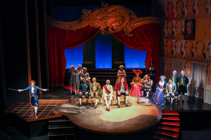 BWW Review: Syracuse Stage's Stunning Production of AMADEUS Opens and Closes all in one Historical Performance
