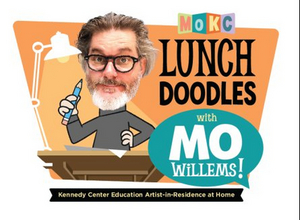Mo Willems to Host Online LUNCH DOODLES Due to Kennedy Center Closure
