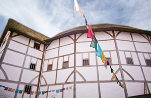 Shakespeare's Globe is Closed to the Public Until Further Notice