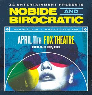 Nobide + Birocratic Performance Postponed at the Fox Theatre